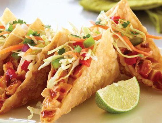 73aaabf6330f9352cca236179eda6b7f--chicken-wonton-tacos-chicken-wontons